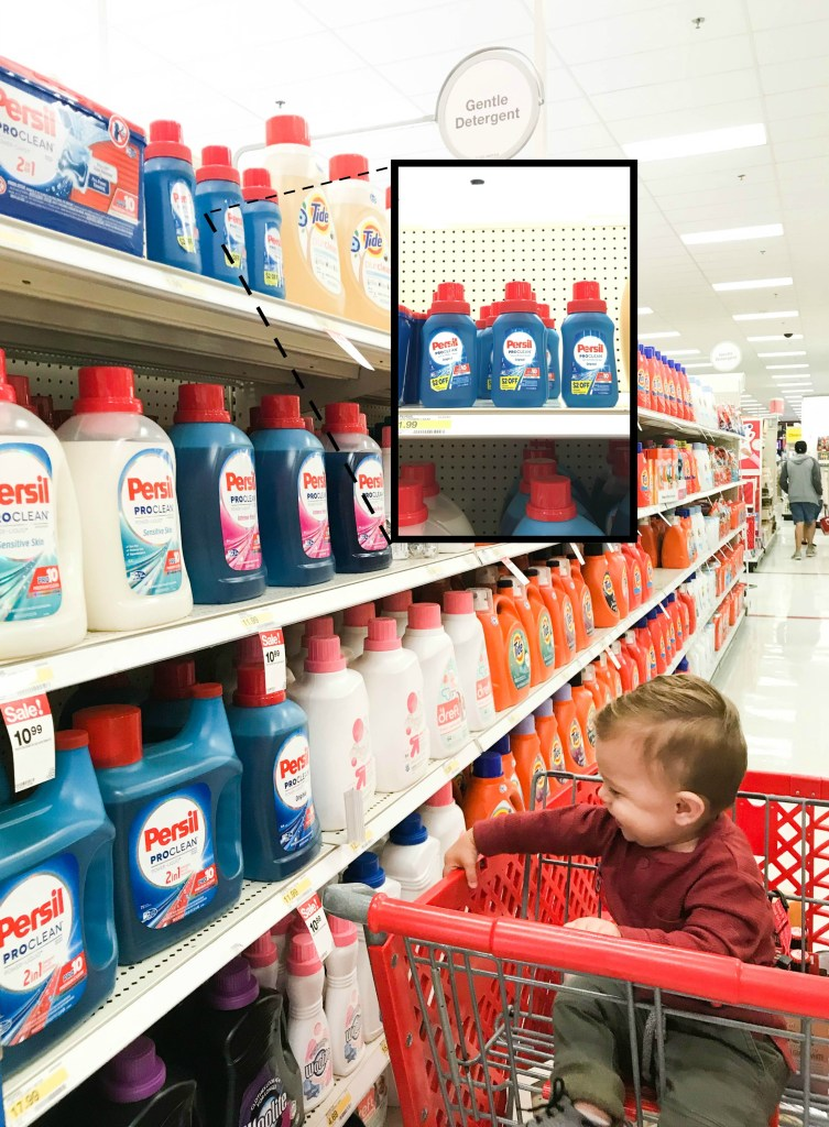 Persil Trial Size in Target Stores