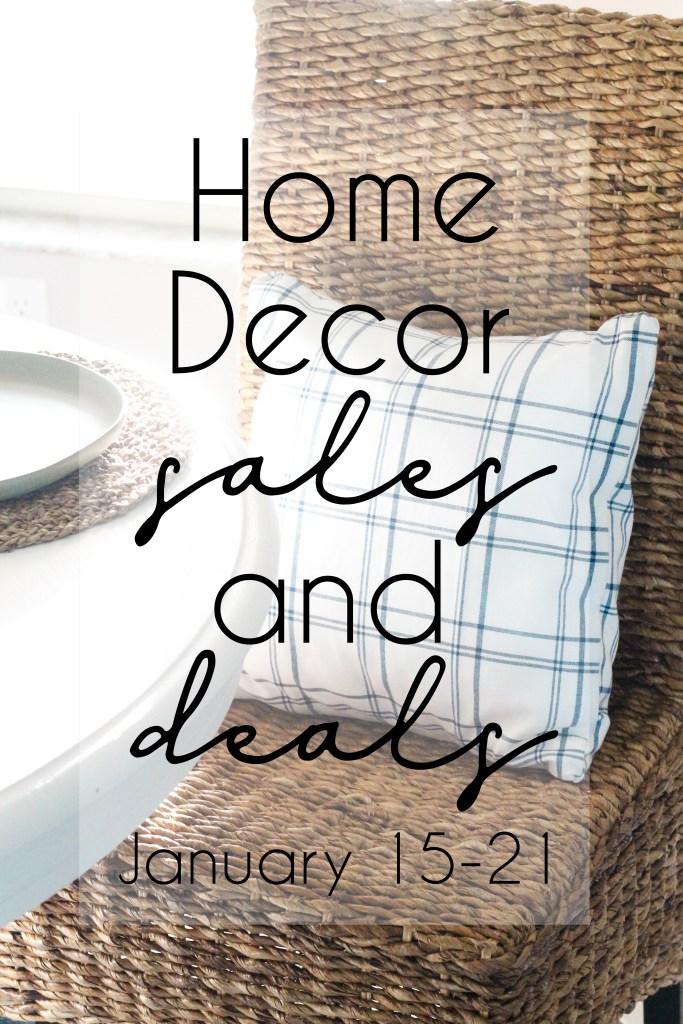 Home Decor Sales