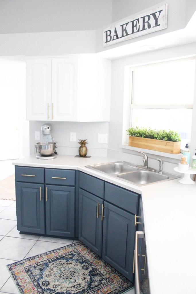 Our Navy Kitchen Reveal Within The Grove