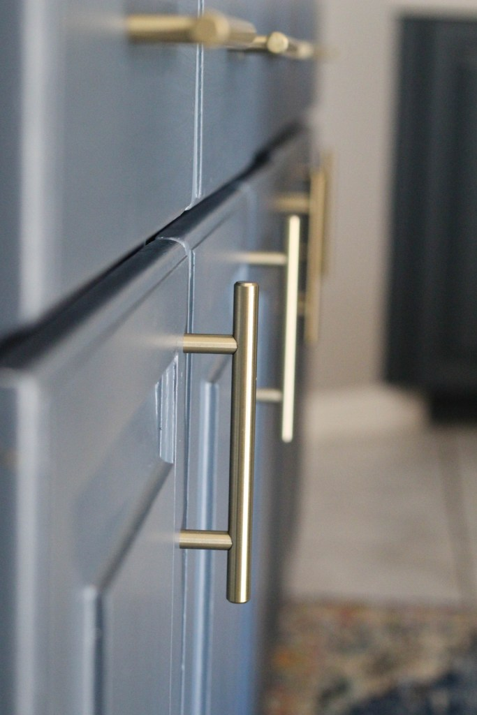 Champagne gold handles