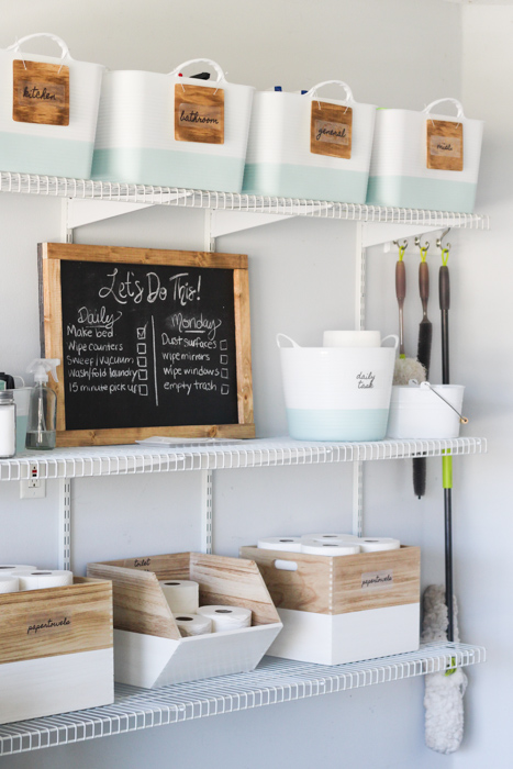 Cleaning Command Center In Your Garage