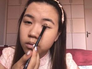 Flower makeup look