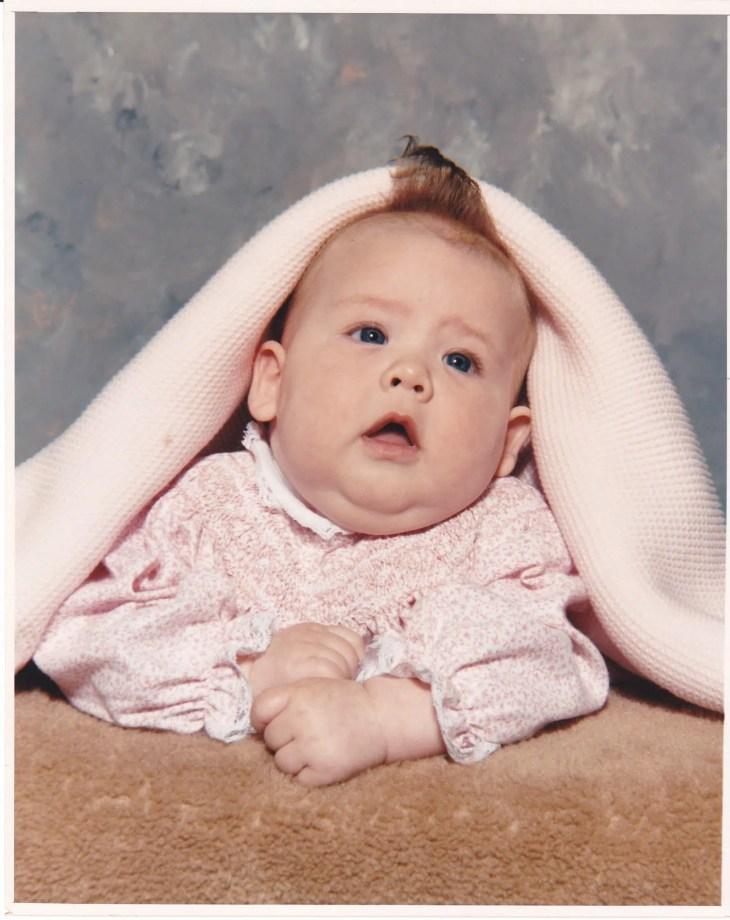 Chubby Cheeked Baby Girl