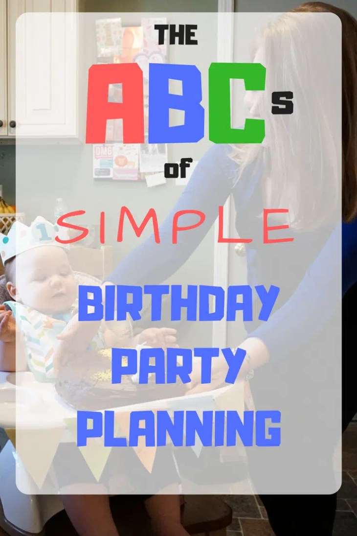 Birthday party planning with less stress and more fun