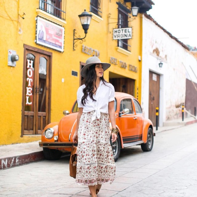 Wandering after breakfast this morning  ootd mexico chiapas travelhellip