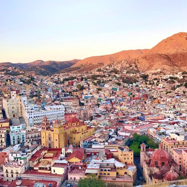 Good morning Guanajuato! We walked all over the city yesterdayhellip