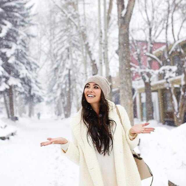 In a real life winter wonderland  Aspen you arehellip