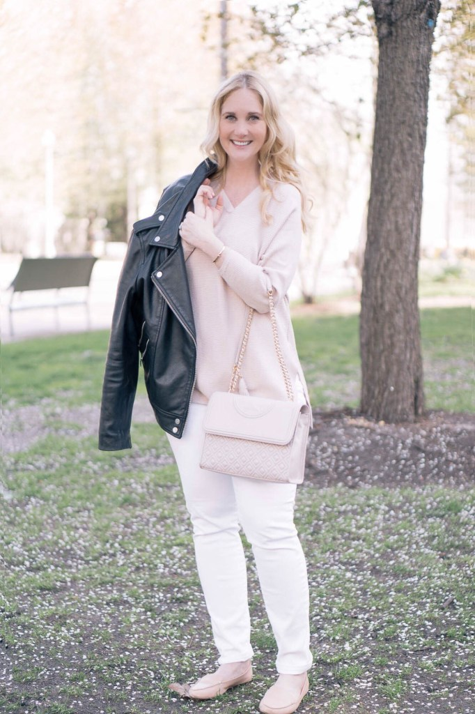 Spring outfit city style