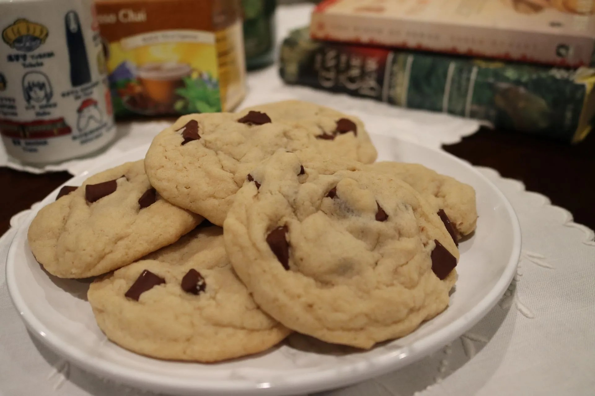 You are currently viewing Super Soft Chocolate Chip Cookies
