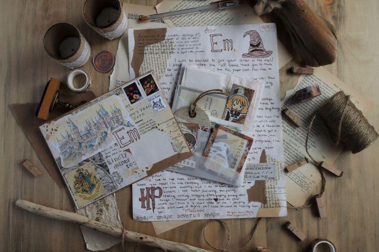 harry potter mail art