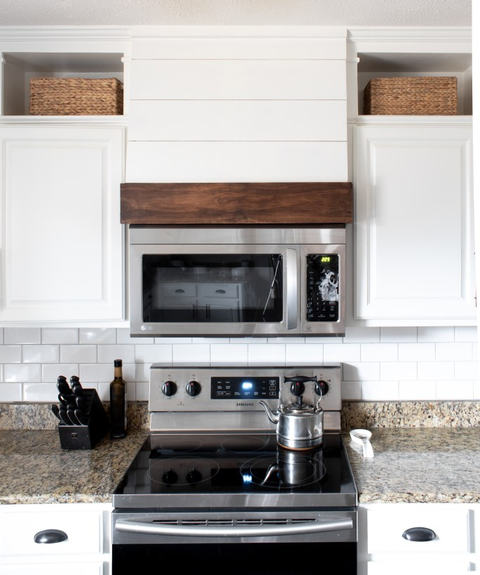 diy faux vent hood with love mercedes