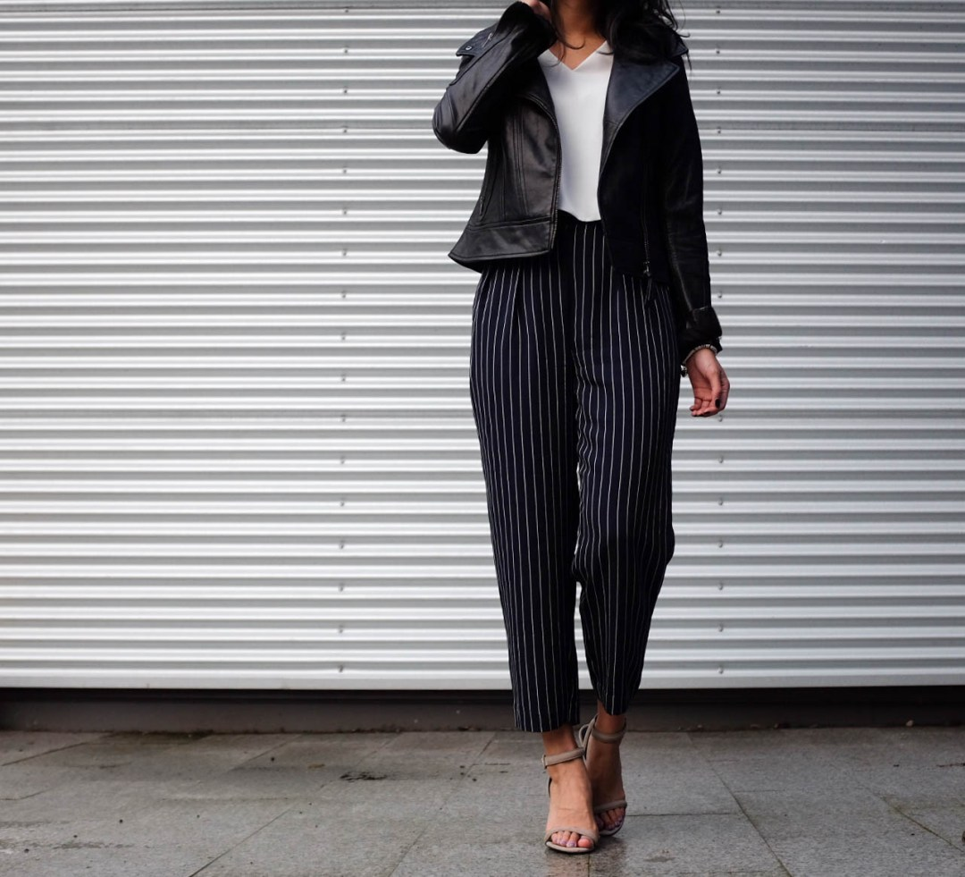 Non-Boring Way To Wear Stripes