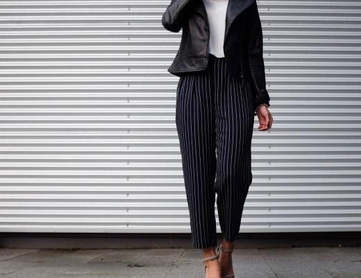 Non-Boring Way To Wear Stripes