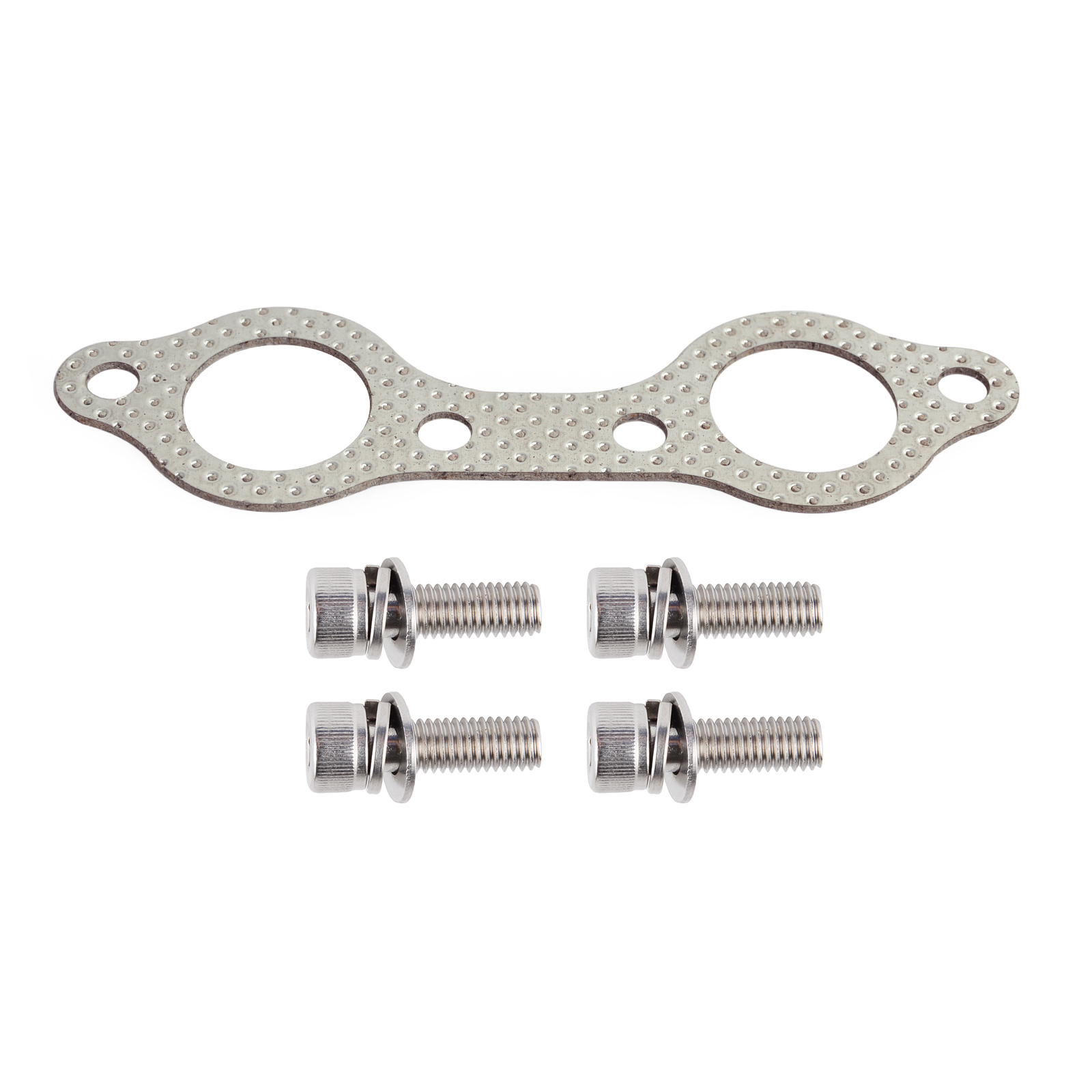 Exhaust Muffler Manifold Gasket Bolt For Polaris Rzr 800