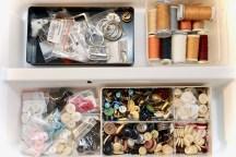 Sewing space organization idea.
