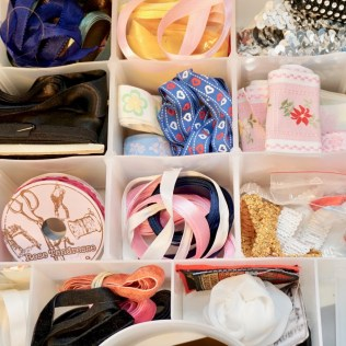 Sewing space organization idea.