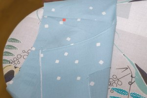 Understitching tutorial: result.