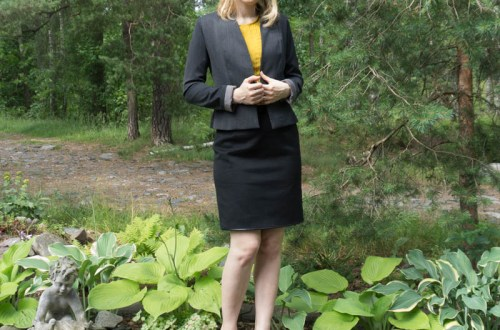 My version of the Image: Burda blazer 08/2013 106A