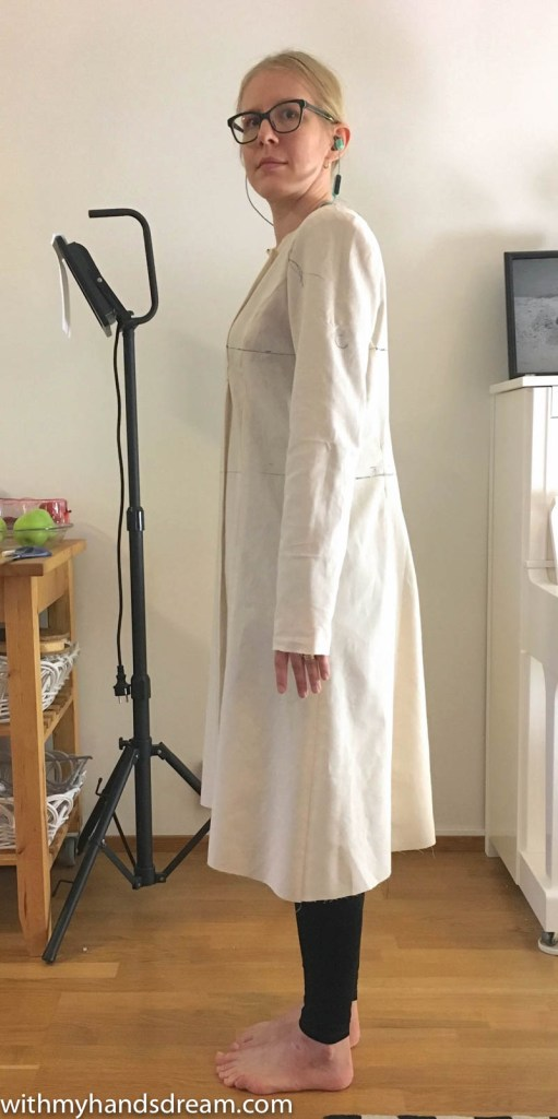McCall's 5525 trench coat project