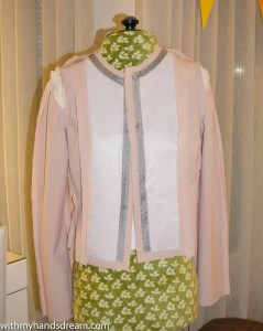 Image: Sew Over It Coco jacket interfacing