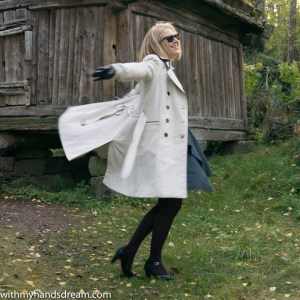 Image: My trench coat deserves a twirl.