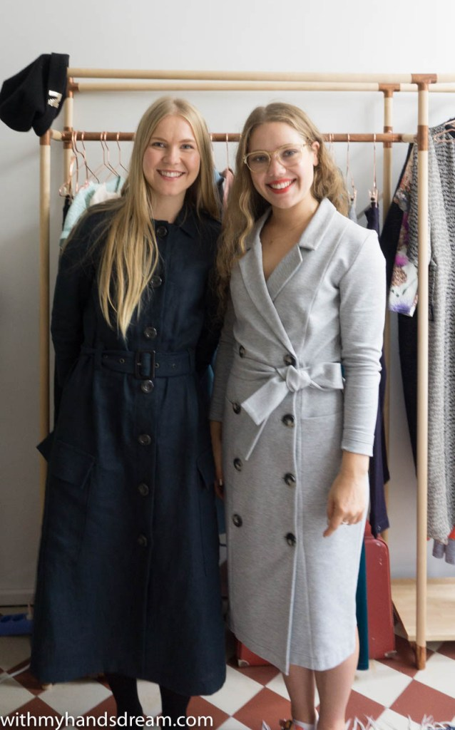 Image: Saara and Laura of Named clothing.