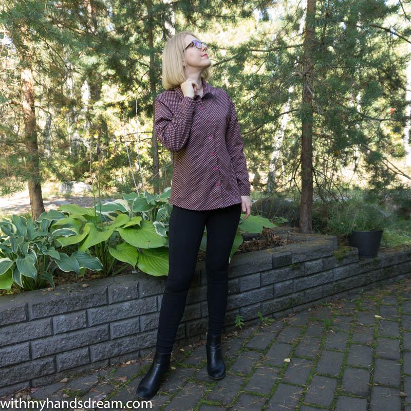 Image: Named clothing Stella raglan shirt.