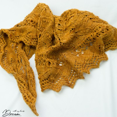 My Juneberry shawl by Jared Flood.