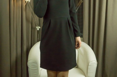 Winter street dress