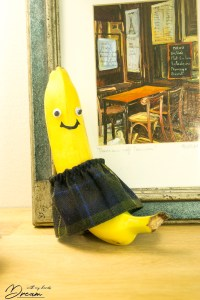 Banana in a skirt!