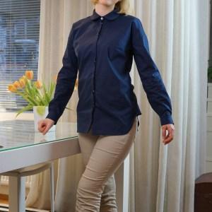 My blue Mélilot blouse by Deer & Doe.