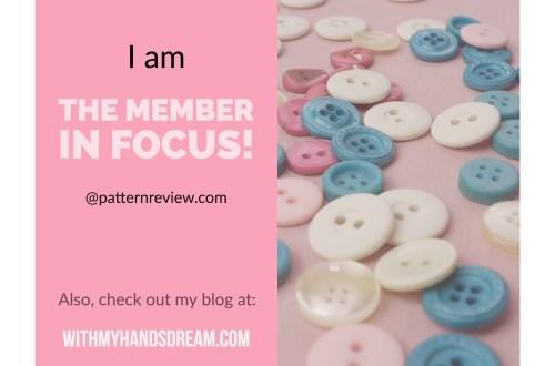 Member in Focus at patternreview.com