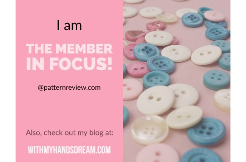 Member in Focus at patternreview.com