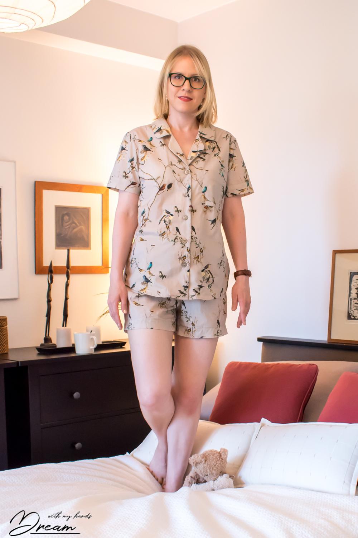 My summer Carolyn pajamas