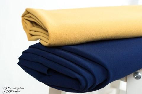 Autumn fabrics: Crepes.