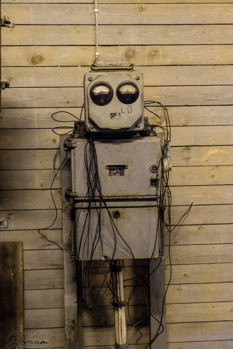 Electric boxes or a robot?