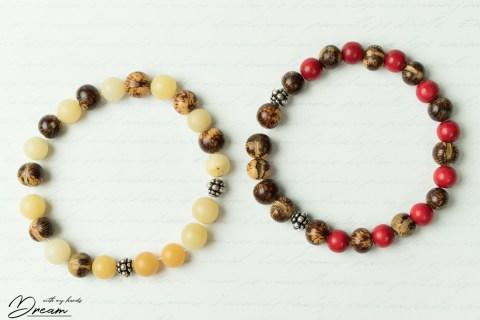 "Bracelets for men: ""Peura and ""Tapio""."