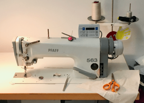 Pfaff industrial sewing machine.