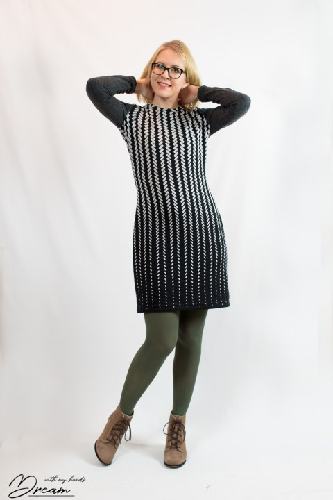 Ruska dress from the front.