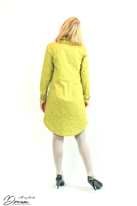 Helmi tunic dress with darts.