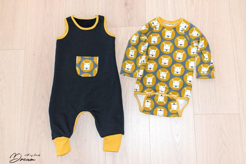 Ottobre design 1/2016 1. Multistripe body and the 4. Koala jumpsuit.