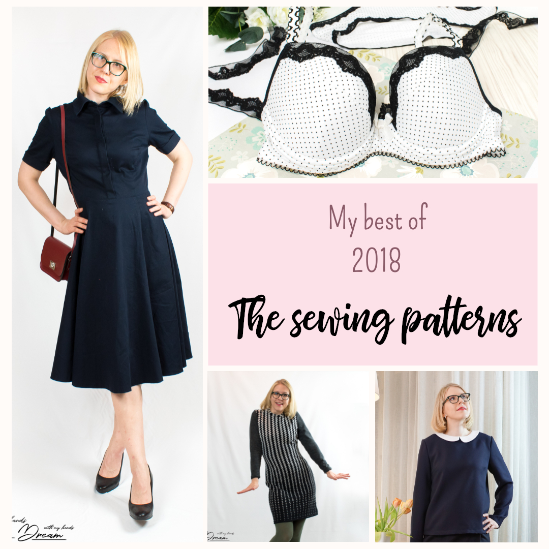 bd528718a3b Once again I went through my sewing projects from the last year and  collected a list of 10 best patterns that I found. Some of the patterns  were older but I ...