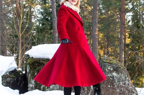 V8346 wool coat.
