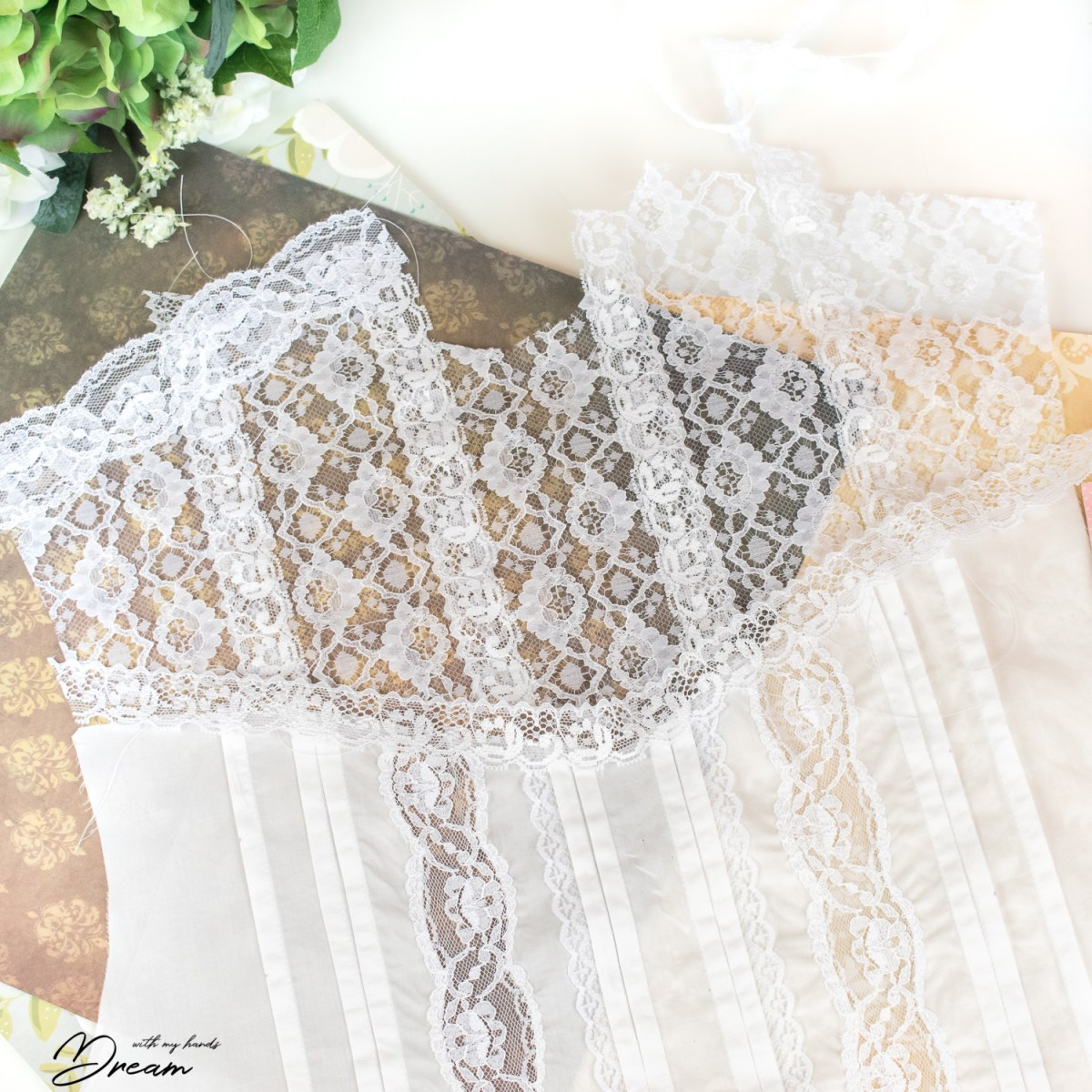 Lace insertions à la Edwardians