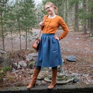 The Kultavilla skirt.
