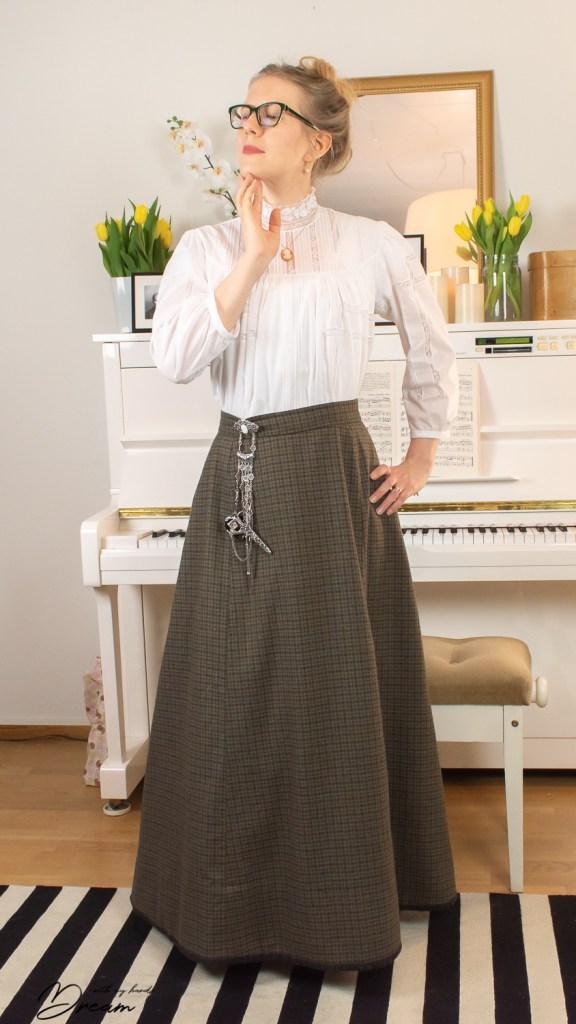 The Folkwear Gibson Girl blouse.