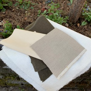 Home-made buckram