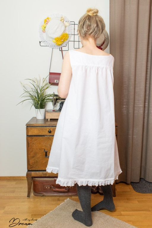 The chemise from the baci.