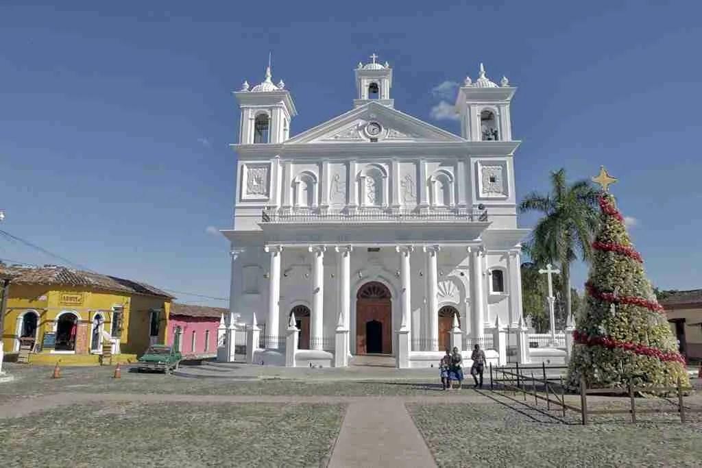 Suchitoto El Salvador Church Square