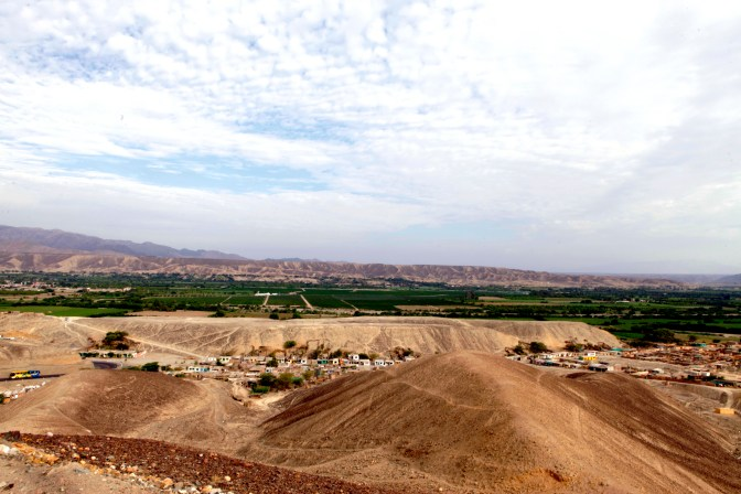 The countryside of southern Peru.